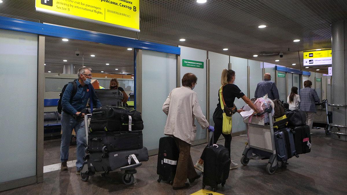 зона прилета в аэропорту шереметьево
