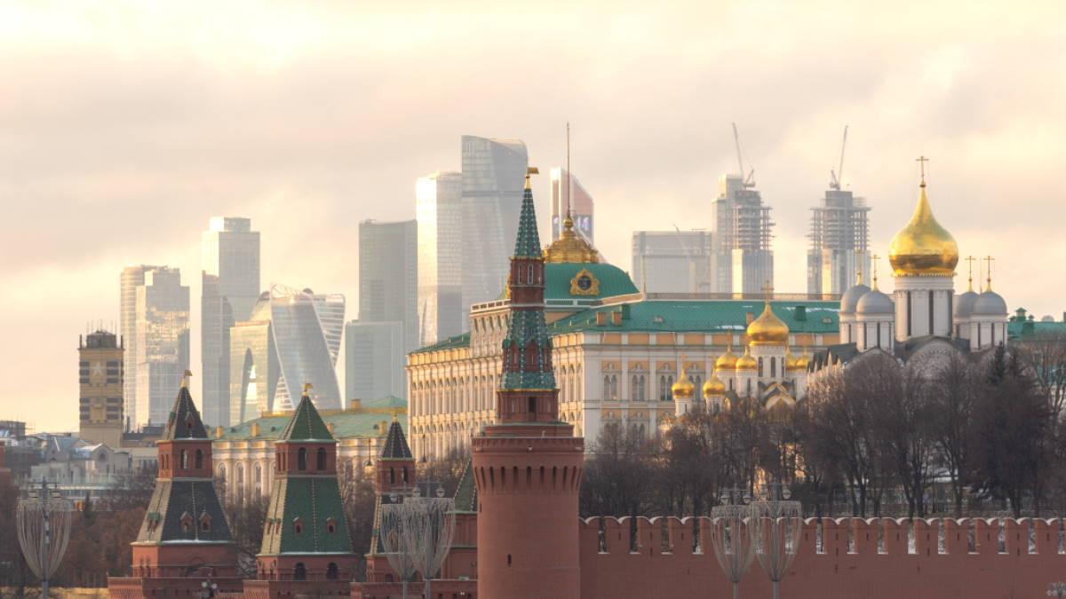 Россия Москва Кремль