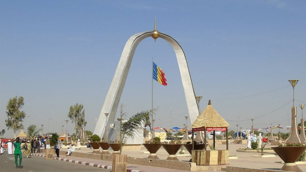 Площадь Нации Нджамена Чад