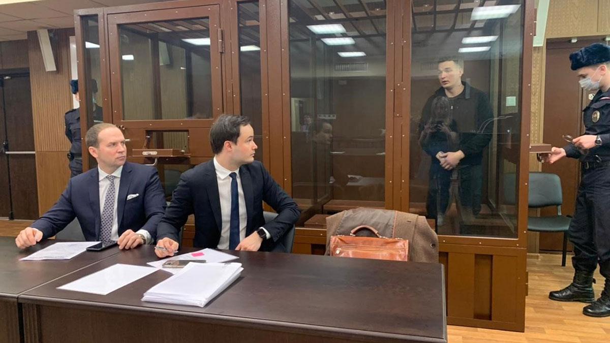Избрание меры пресечения блогеру Эдварду Билу в Тверском суде