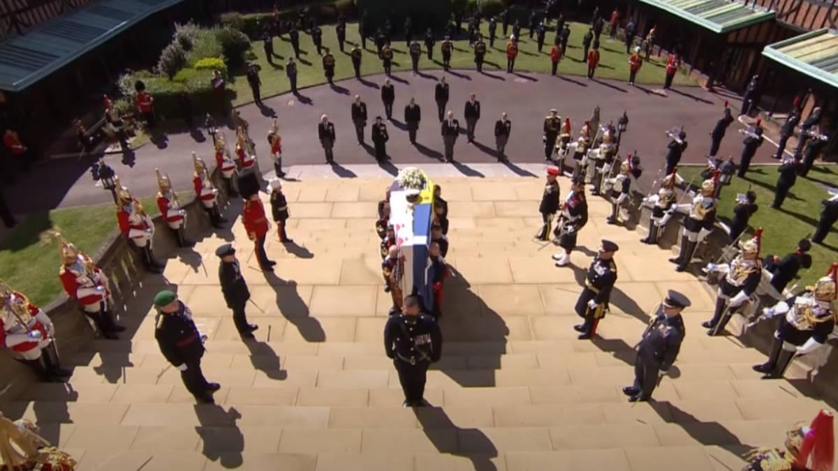 Принца Филиппа временно похоронили в Виндзорском замке