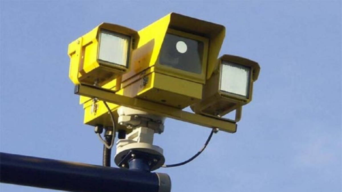 Камера контроля скорости