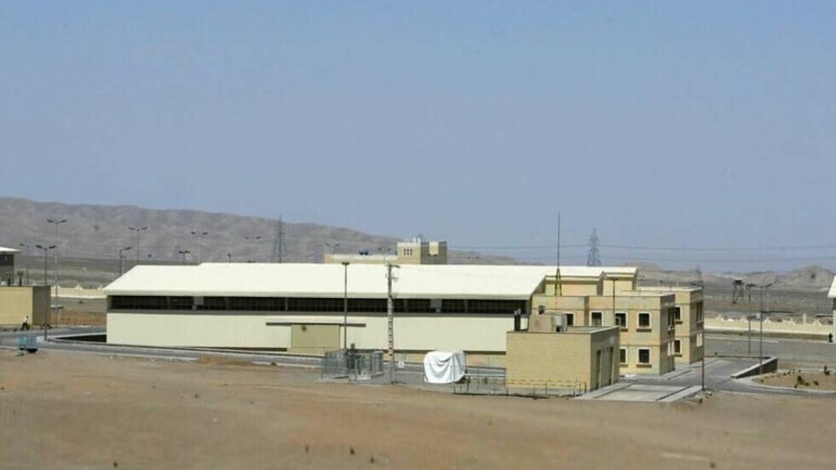 Ядерный объект Ирана в Натанзе