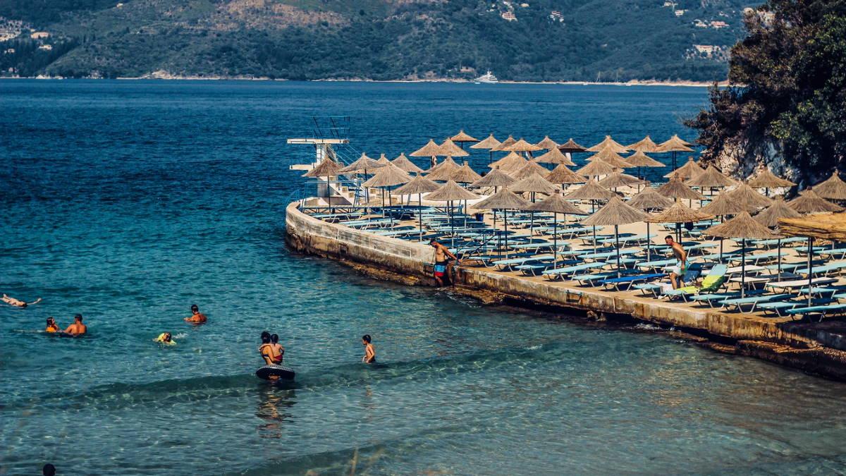 Албания пляж туризм