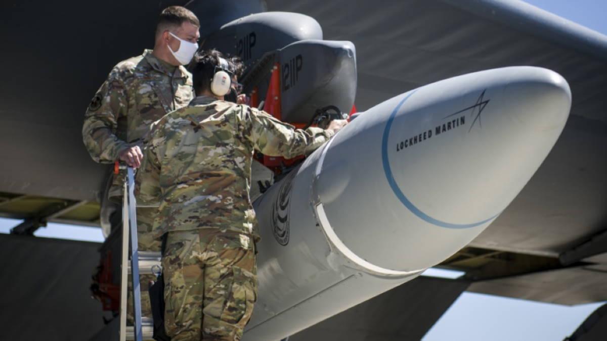 Гиперзвуковая ракета AGM-183A Air-launched Rapid Response Weapon