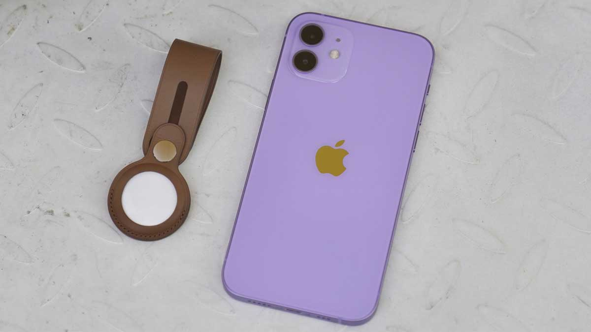 Apple AirTag and the new purple iPhone 12