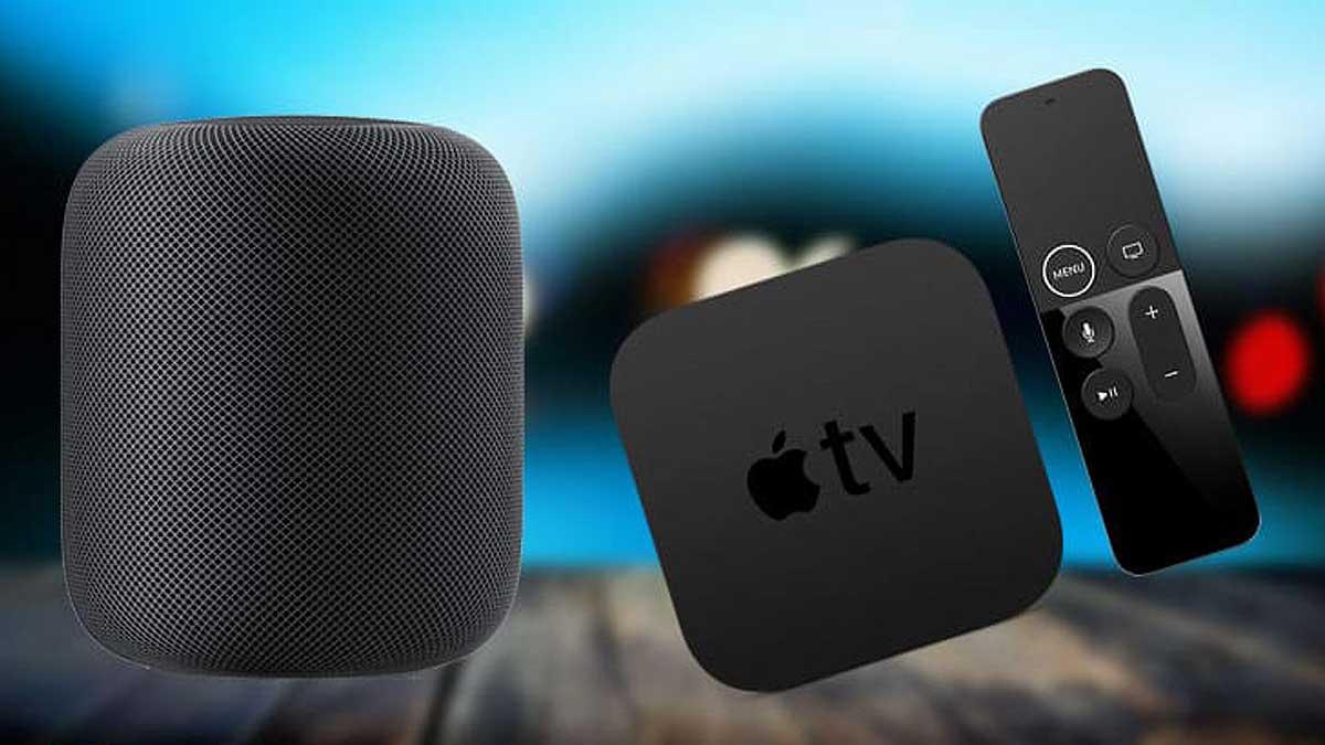Apple TV HomePod