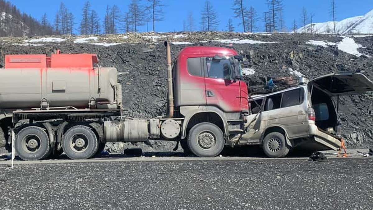 ДТП в Якутии