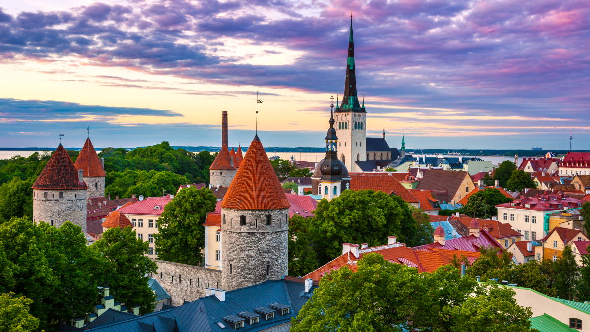 Таллин Эстония туризм