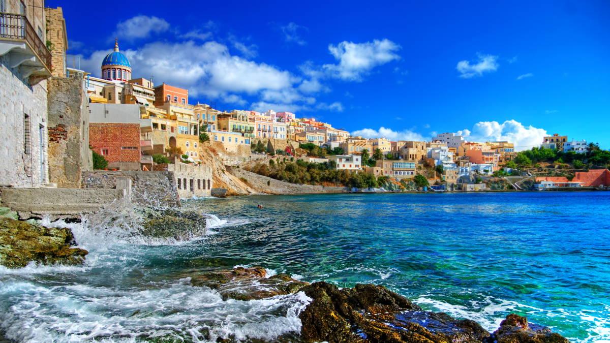 Остров Сирос Греция