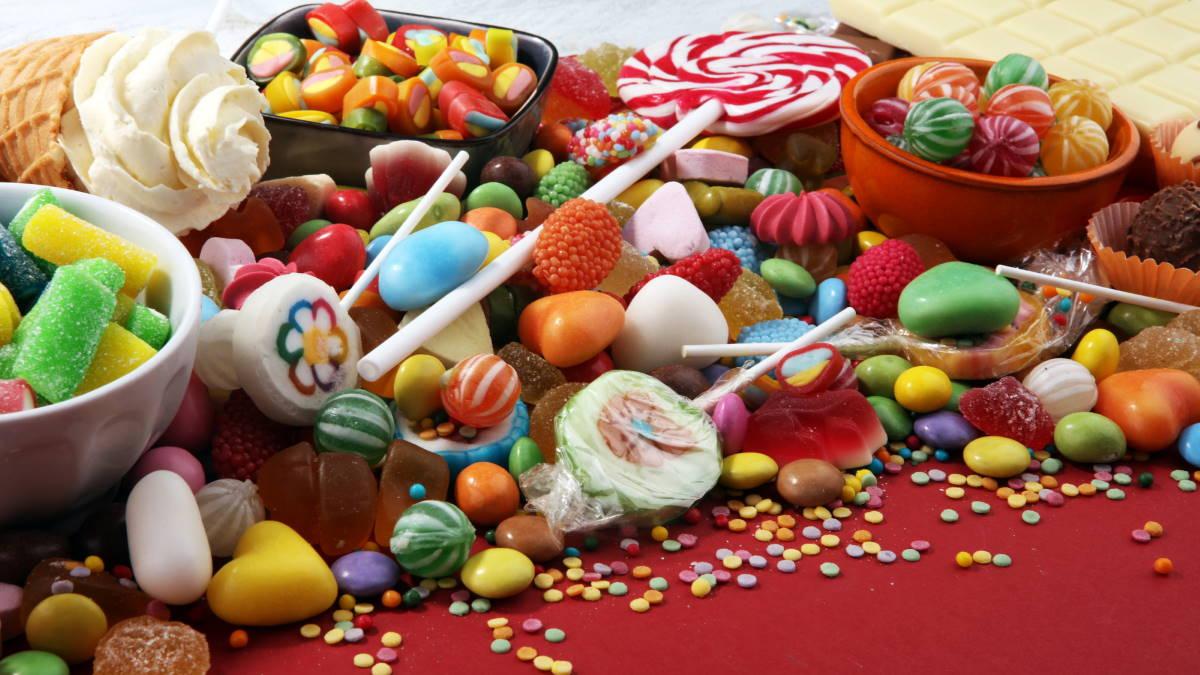 Сладкое сладости конфеты