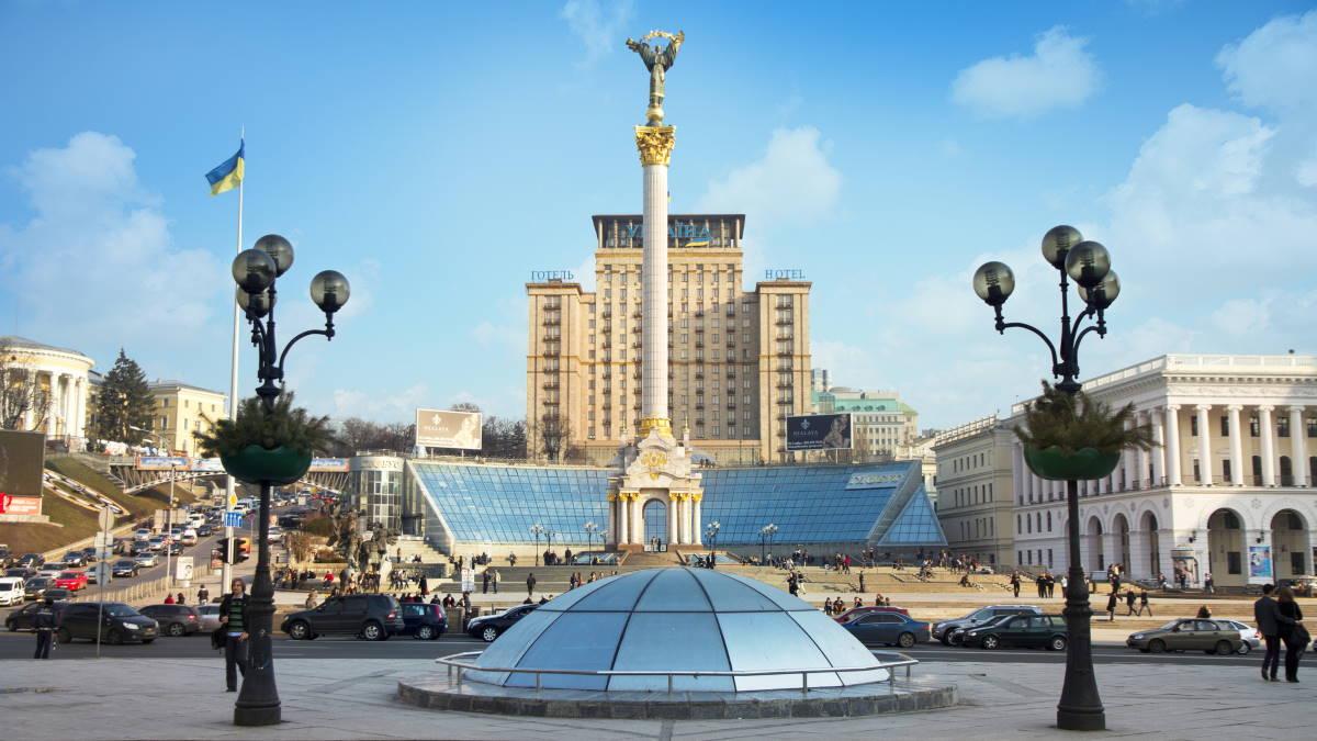 Киев Монумент Независимости