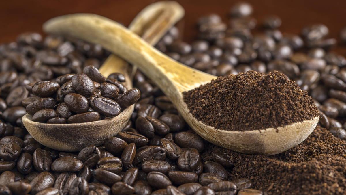 Кофе молотый и в зёрнах