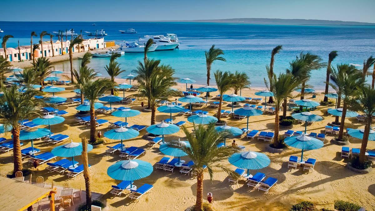 Египет пляж туризм