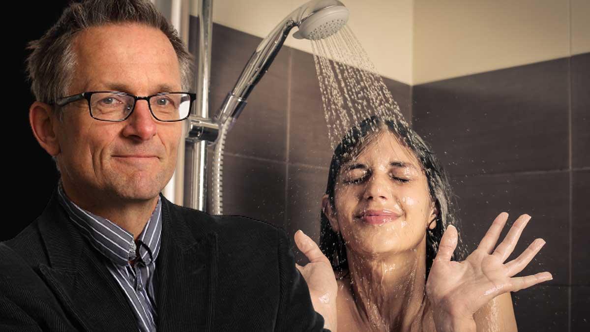Dr Mosley доктор майкл мосли девушка в душе холодная вода