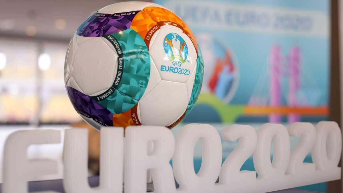 EURO 2020 футбольный мяч UEFA УЕФА