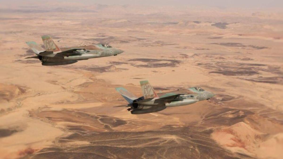 Многоцелевые истребители F-35I Adir
