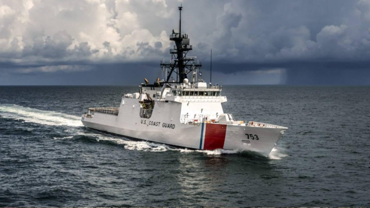Патрульный катер береговой охраны США Hamilton