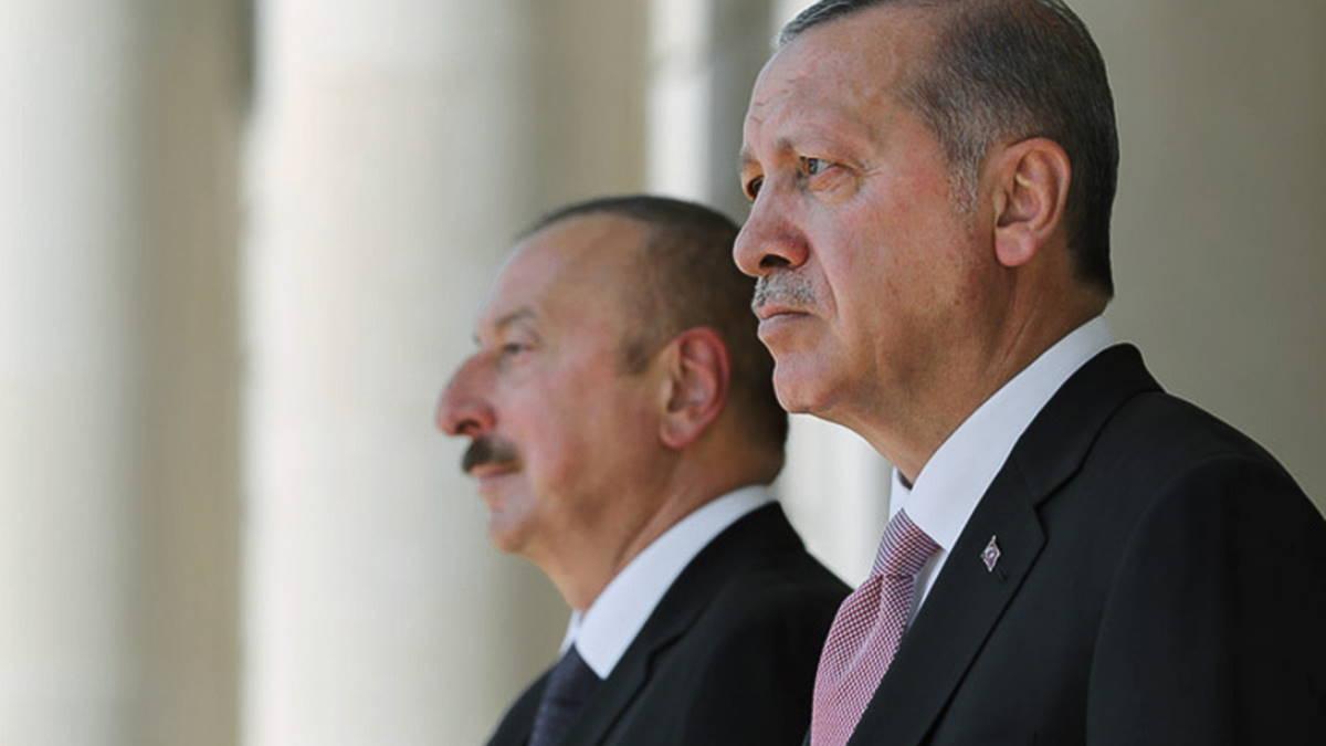 Ильхам Алиев и Реджеп Тайип Эрдоган