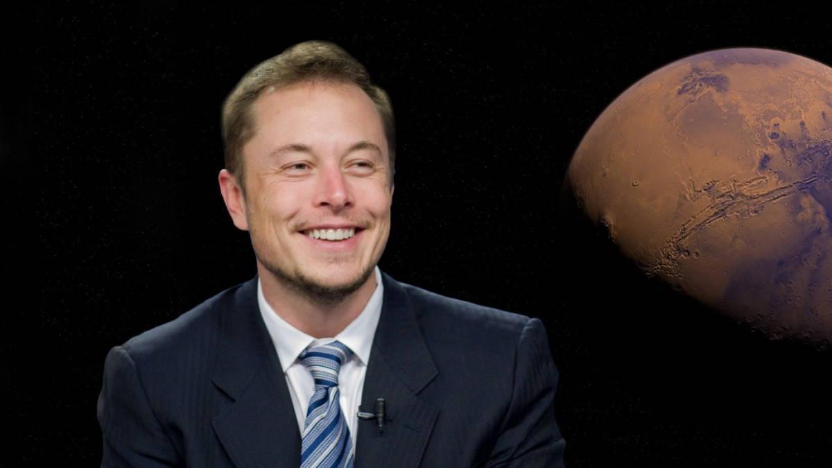 Илон Маск Марс