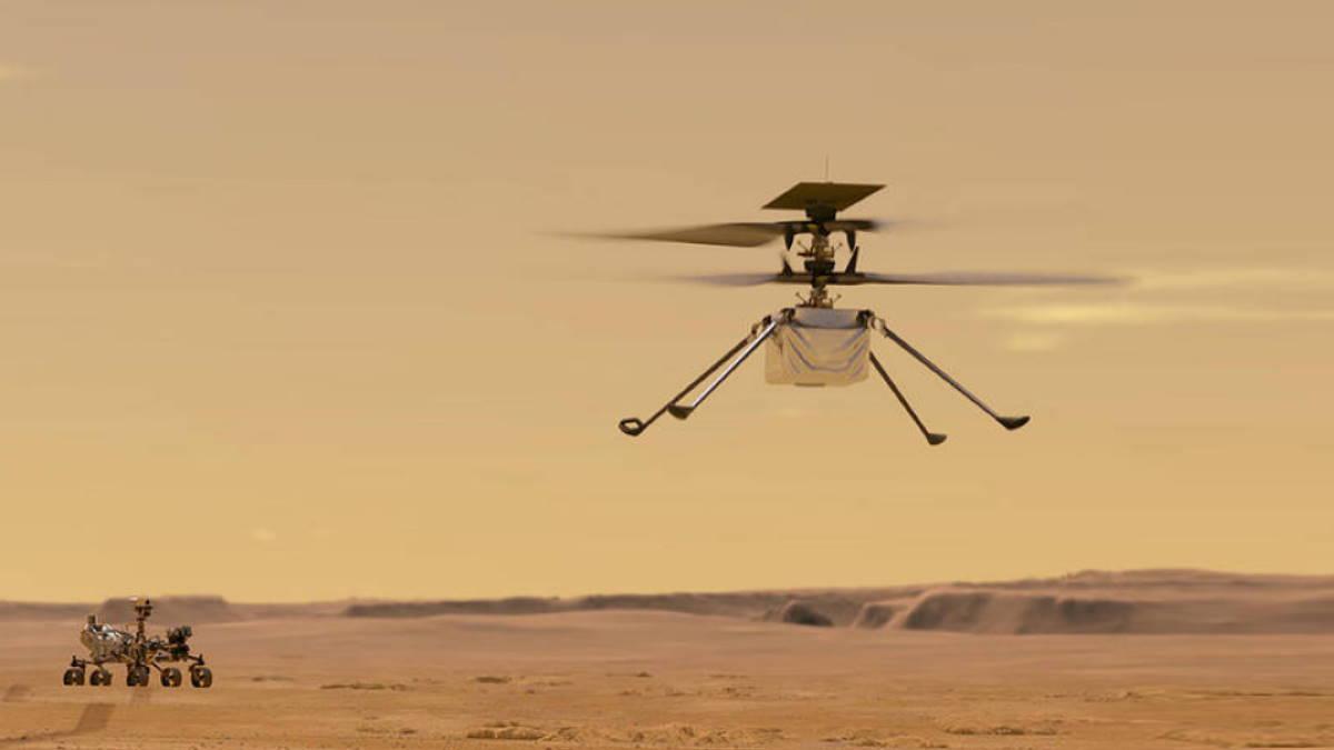 Вертолёт дрон NASA