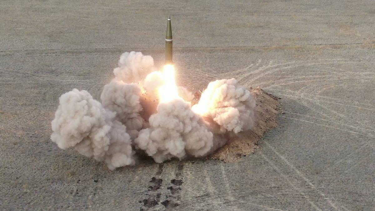 Запуск ракеты Искандер-М