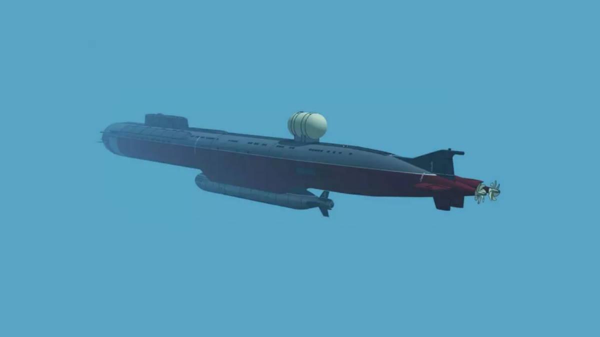 Подводная лодка К-329 Белгород