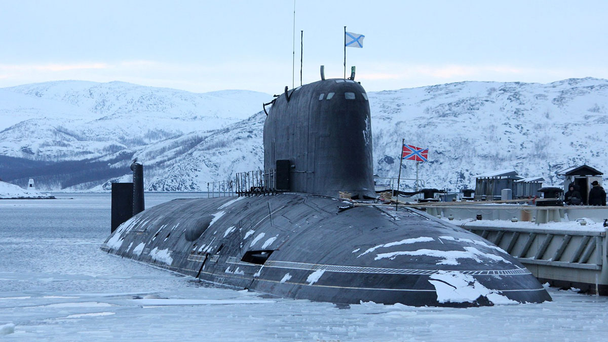 Атомная подводная лодка К-560 «Северодвинск»