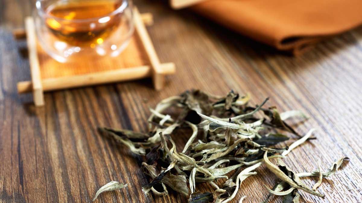 Китайский белый чай из провинции Китай