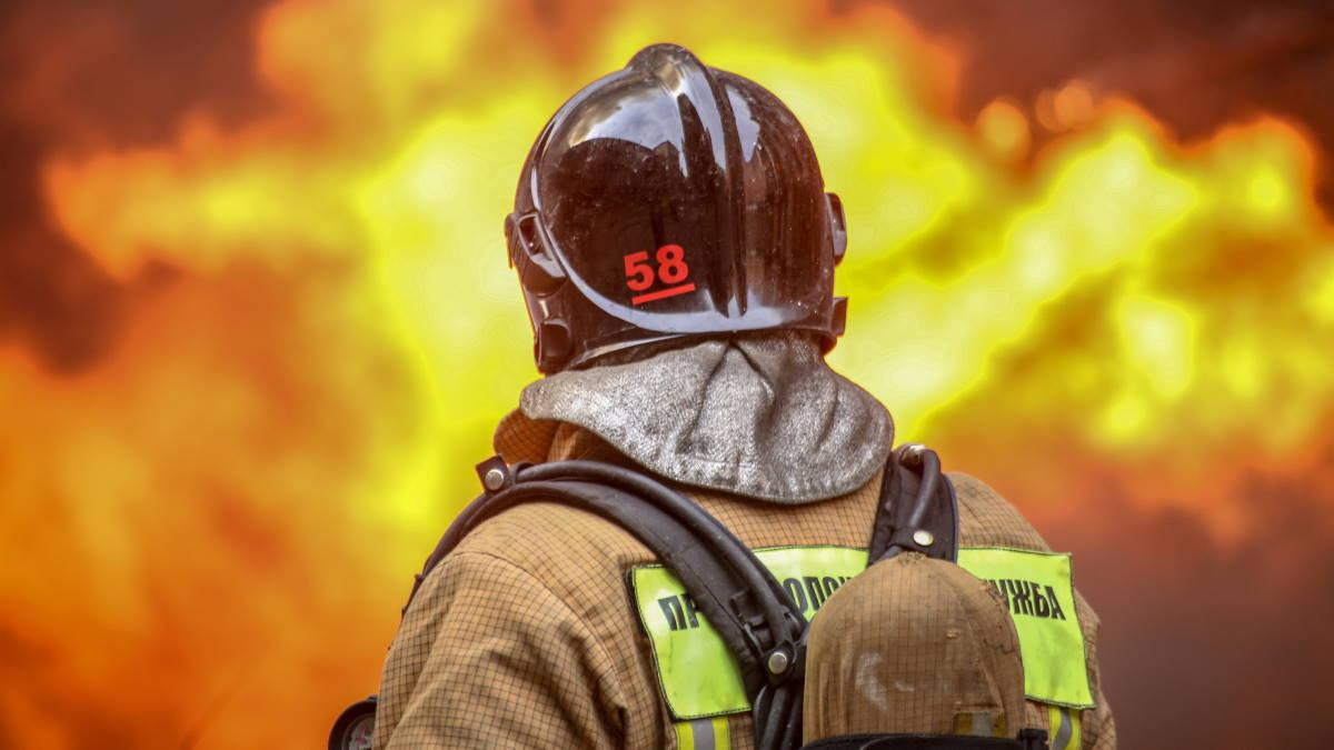 МЧС пожарный