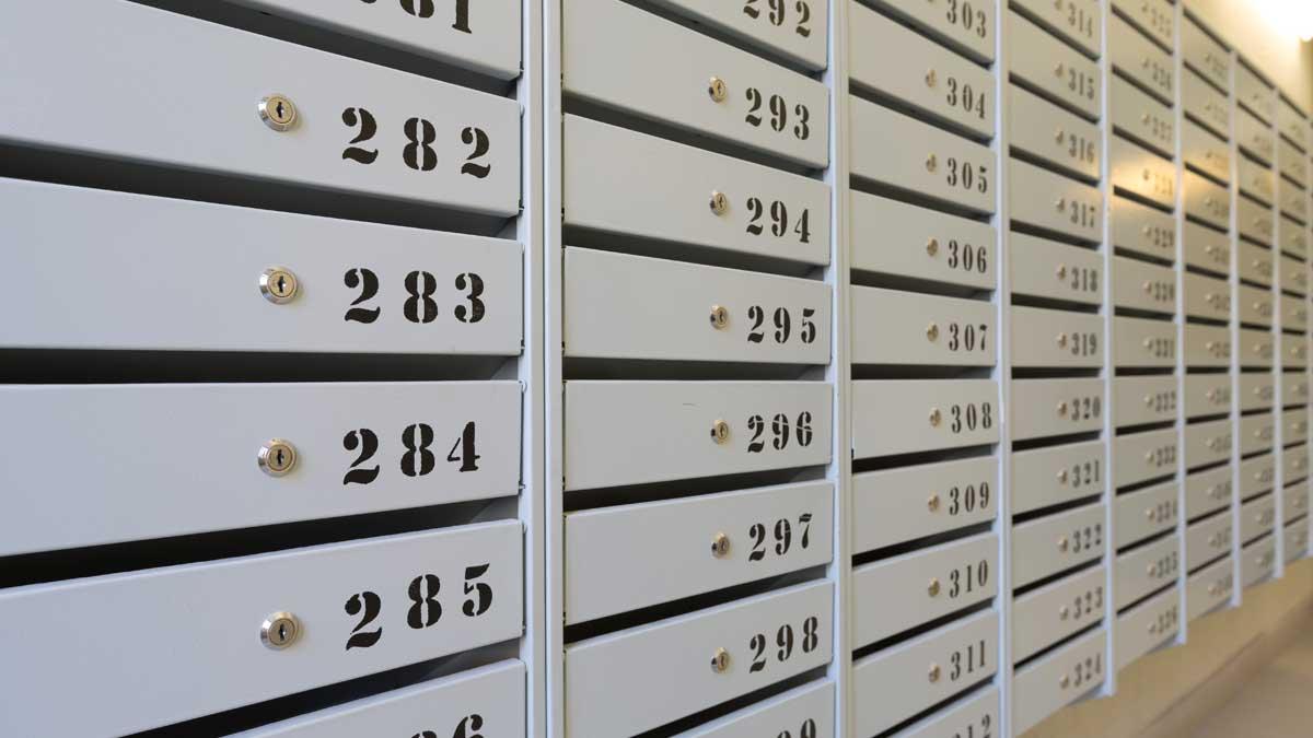 Почтовые ящики в многоквартирных домах
