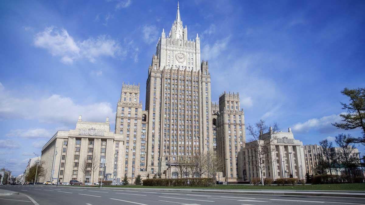 Министерство иностранных дел семь