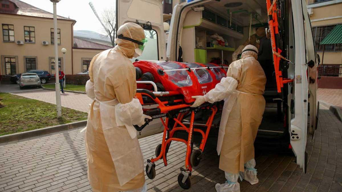 Минск скорая помощь врачи коронавирус