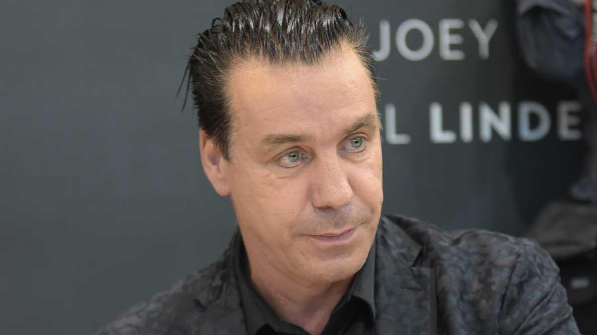 Немецкий музыкант и фронтмен группы Rammstein Тилль Линдеманн