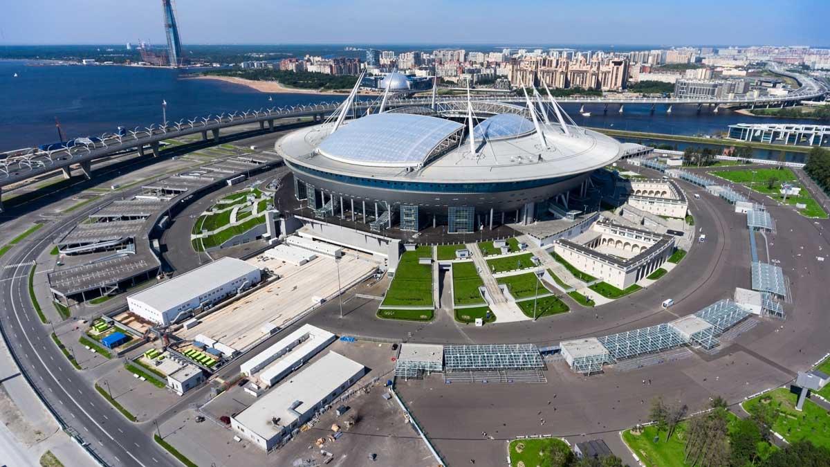 Новый стадион Зенит Арена