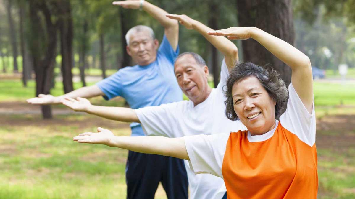 физическая активность Китай