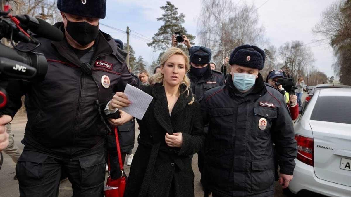 Полиция начала задержания навальный тюрьма