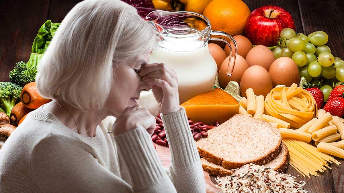 Продукты витамин B женщина болят глаза