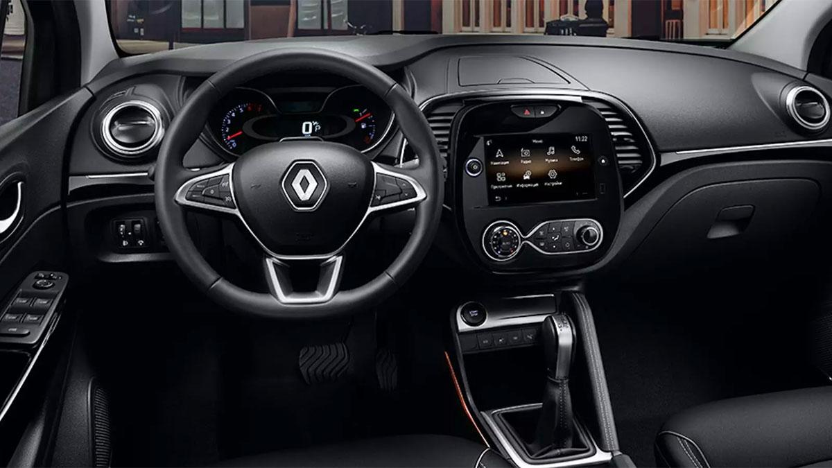 Renault Connect салон рено Kaptur