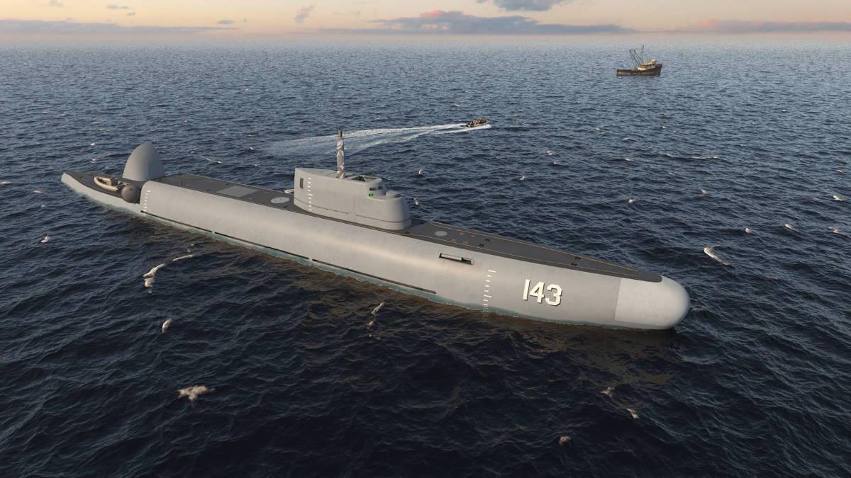Проект погружаемого патрульного корабля Страж
