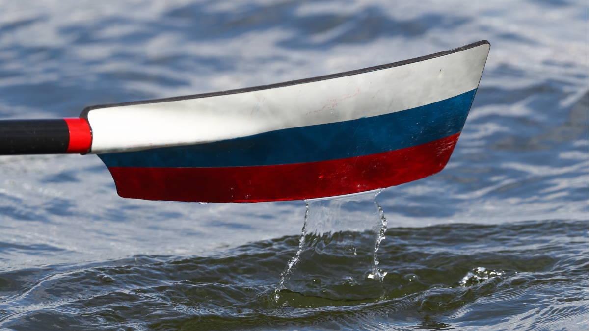 российские гребцы