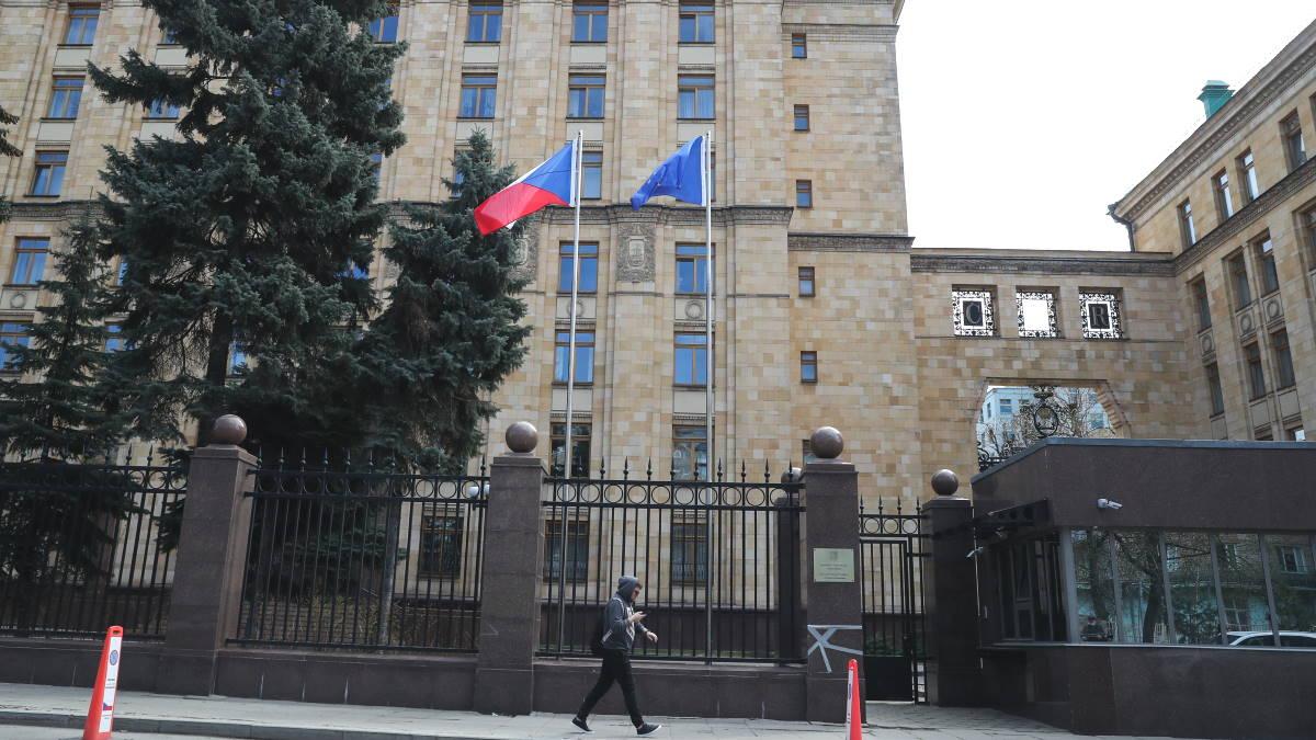 Посольство Чехии в России