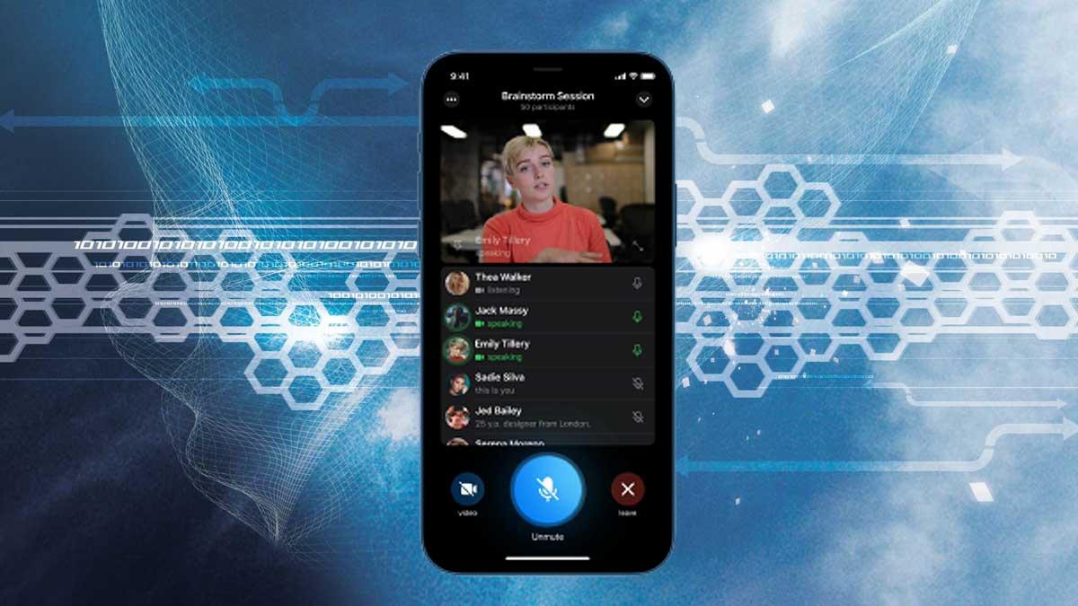 Телефон видеоконференция чат Дуров телеграм