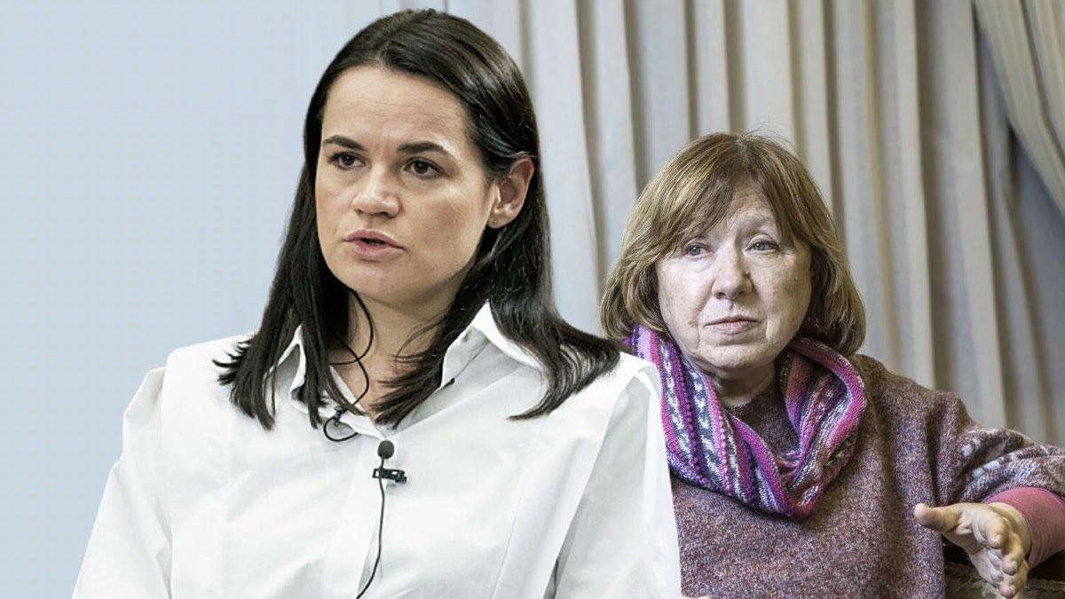Тихановская и Алексиевич