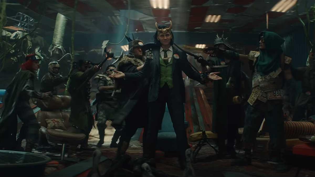 Трейлер Локи студия Marvel
