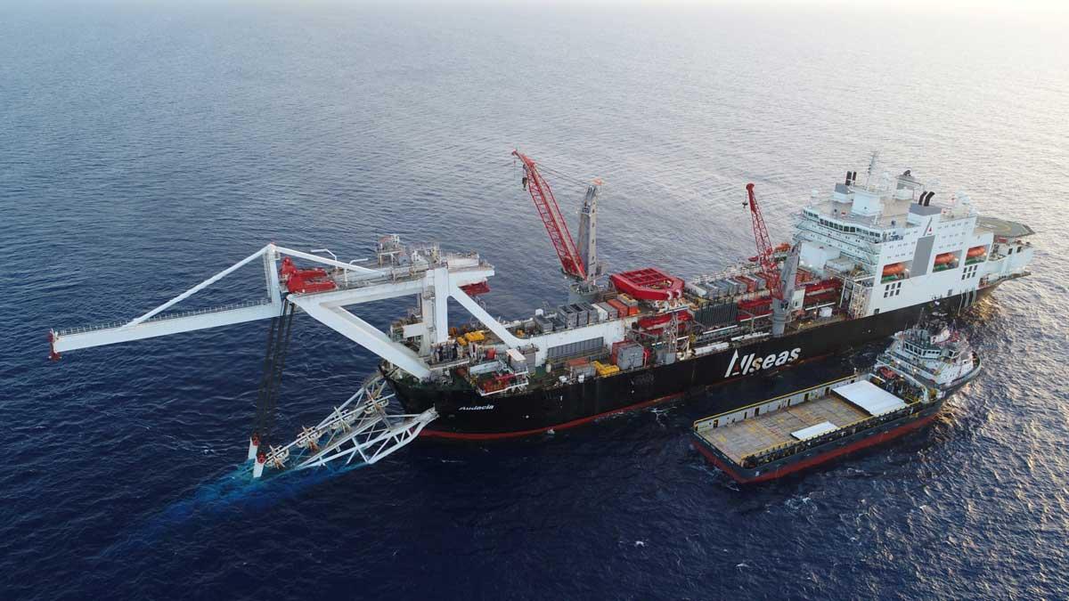 Трубоукладчик для Nord Stream 2