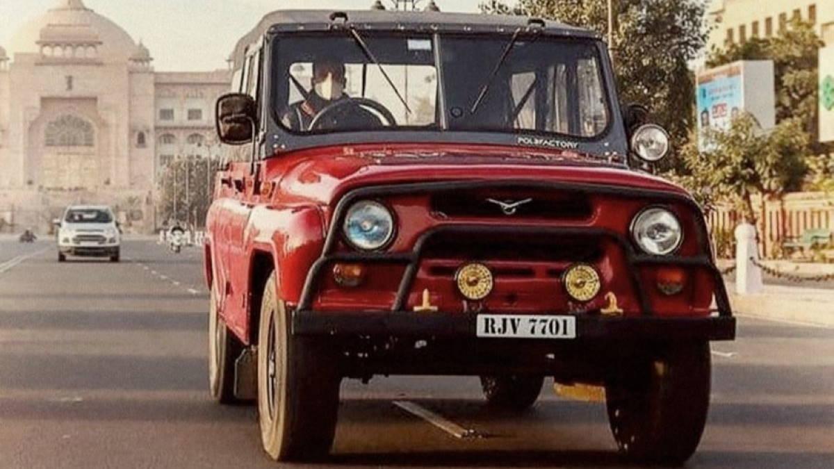 праворульный УАЗ-469