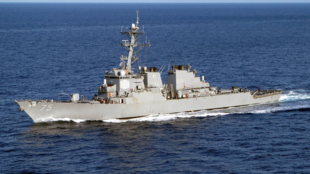 Эсминец USS Donald Cook - DDG-75