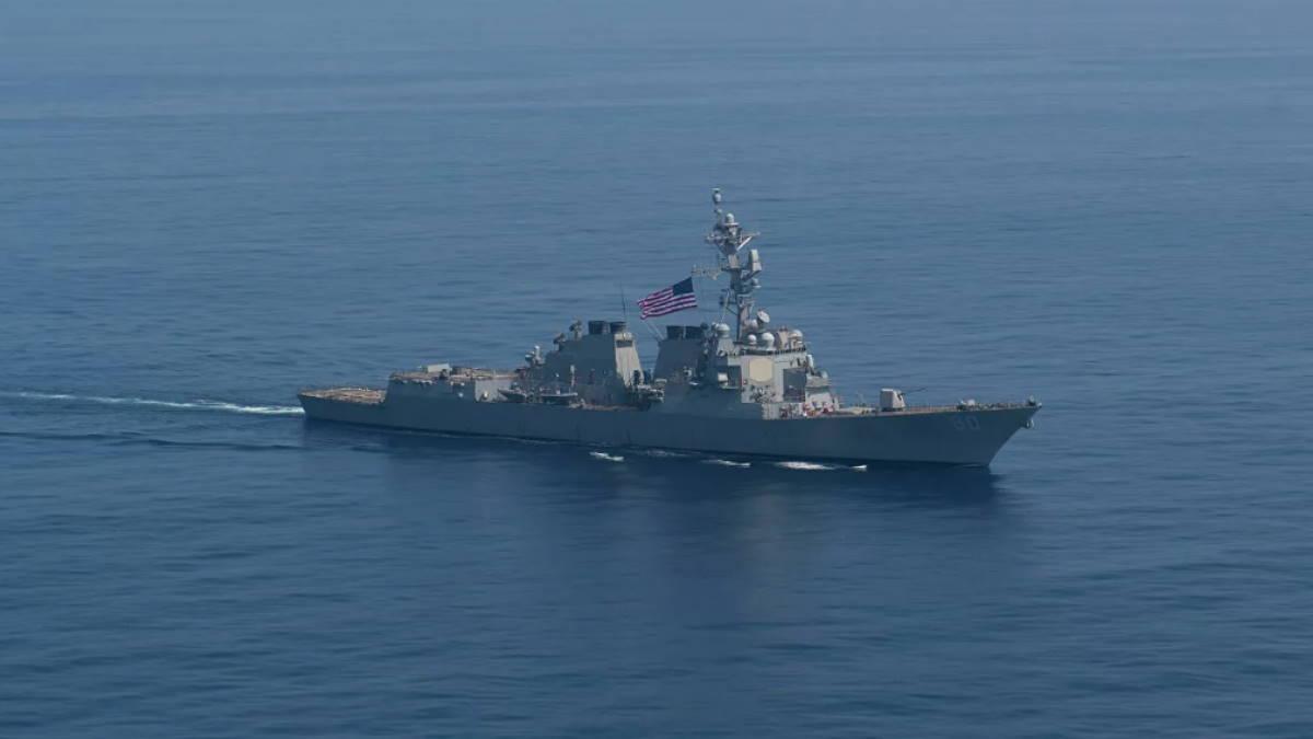 Американский эсминец USS Roosevelt DDG-80