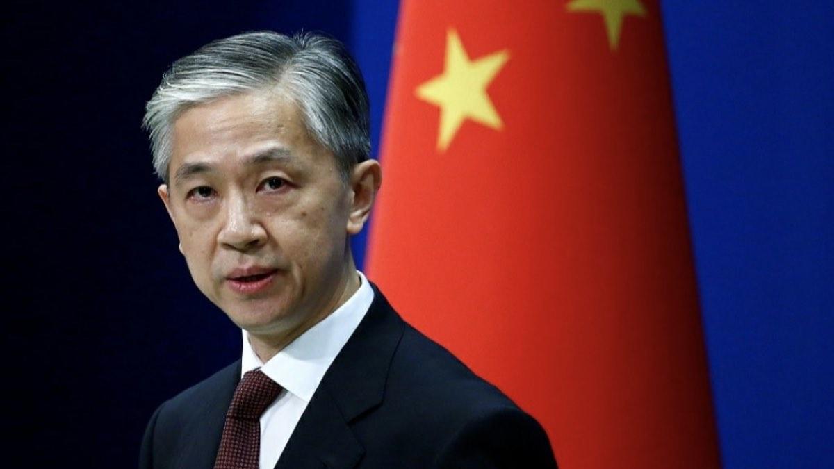 Официальный представитель МИД КНР Ван Вэньбин